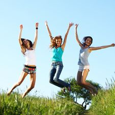 Free Fun Girlfriends Stock Photo - 18220480