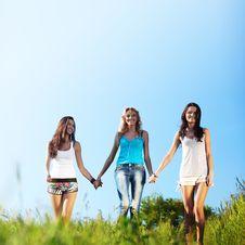 Free Fun Girlfriends Royalty Free Stock Photos - 18220538