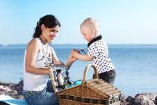 Free Happy Family Picnic Stock Photo - 18220660