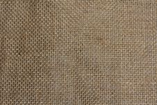 Free Hessian Sack Cloth Texture Background Stock Images - 18220694