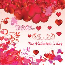 Free Valentine S Day Card Royalty Free Stock Images - 18221369