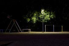 Free Night Park Royalty Free Stock Image - 18221886