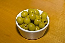Free Green Olives Royalty Free Stock Images - 18221919