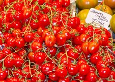 Free Fresh Tomatoes At A Local Street Market Stock Images - 18222644