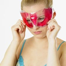 Free Woman With Facial Mask Stock Photos - 18223123