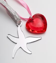 Heart And Star Stock Image