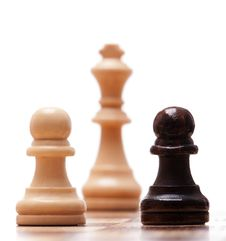 Free Chess Pieces Royalty Free Stock Photography - 18223797