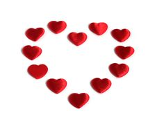Free Red Heart Made Of Smaller Red Hearts Royalty Free Stock Photo - 18223895