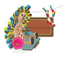 Free Sewing Hedgehog Stock Photo - 18223920