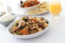 Mixed Vegetables Royalty Free Stock Photos