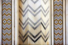 Free Detail Marbled Mosaic Of Symmetric Jagged Lines Stock Photo - 18224500