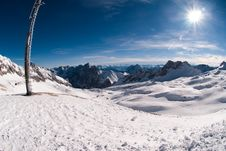 Free Winterlandscape In The Zugspitze, Germany Stock Photos - 18225023