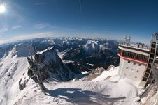 Free Weather Station In The Zugspitze, Germany Stock Images - 18225064
