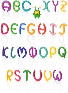 Free Alphabet 1. Plasticine | Isolated Stock Photography - 18225732