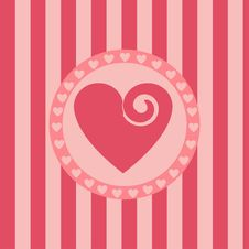 Free Cute Hearts Background Stock Photography - 18225782