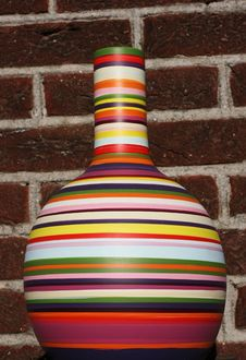 Colorful Vase Royalty Free Stock Photos