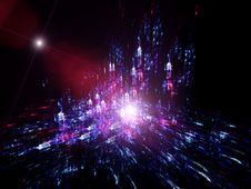 Free Dynamic Three Dimensional Abstract Royalty Free Stock Photos - 18226448