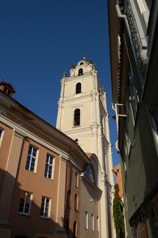 Free St John S Church, Vilnius Royalty Free Stock Photo - 18227445
