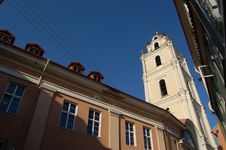 Free St John S Church, Vilnius, Lithuania Stock Image - 18227471