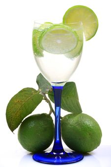 Fresh Lime Water Stock Photos