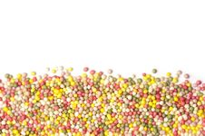 Free Sprinkles With Copy Space Stock Photos - 18227813