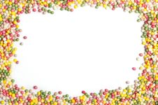 Free Sprinkles With Copy Space Royalty Free Stock Images - 18227829