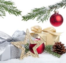 Free Christmas Decoration Royalty Free Stock Photos - 18228498