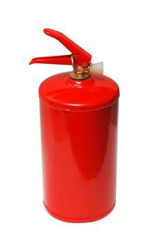 Free Red Fire Extinguisher On White Background Stock Photo - 18228630