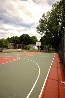 Free Basketball Court Stock Photography - 18228822