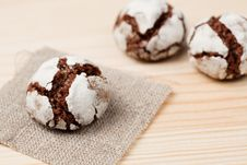Free Chocolate Crinkles Royalty Free Stock Photos - 18228988