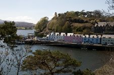 Portree Royalty Free Stock Images