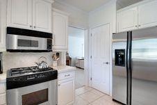 Free White Kitchen Stock Photo - 18229630