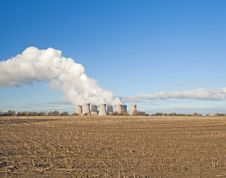 Free Cooling Towers Of A Power Station Stock Photo - 18229640