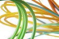 Free Colorful Cables Royalty Free Stock Photography - 18233407