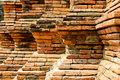 Free Step Of The Brick Wall Decoration Stock Images - 18236034
