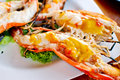 Free Grilled Shrimp Closeup Stock Photo - 18236210