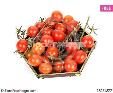 Free Cherry Tomato Royalty Free Stock Photography - 18231877
