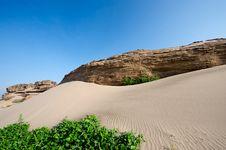 Free Sand Dunes Royalty Free Stock Photo - 18230435