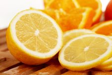 Free Lemon Slices Royalty Free Stock Photography - 18230487