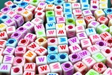 Free DICE CHARACTERS IN MANY COLORS Stock Photo - 18230540