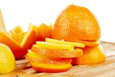 Free Orange And Lemon Slices Stock Images - 18230564