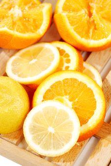 Free Orange Slices Royalty Free Stock Photos - 18230598
