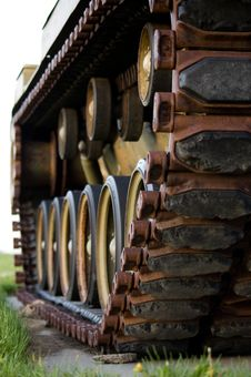 Free Military Tank Track Stock Photo - 18230650