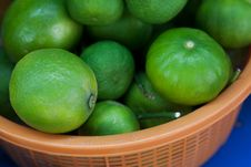 Free Fresh And Green Lemons Stock Photo - 18231820