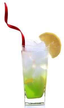 Chilled Lemon Slush Stock Photos