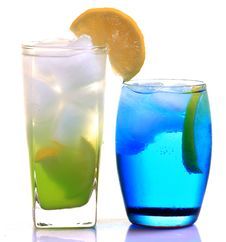 Free Lemon Slush And Iceberg Drink Royalty Free Stock Images - 18232179