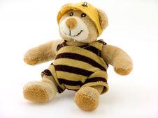 Free Sitting Toy Bear Stock Photo - 18232570