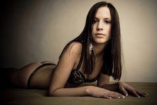 Free Beautiful Youg Girl Royalty Free Stock Photography - 18232677