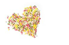 Free Heart Of Sprinkles Stock Image - 18233471