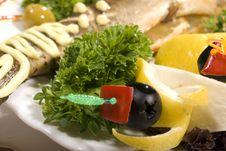 Free Baked Fish Stock Photo - 18233510